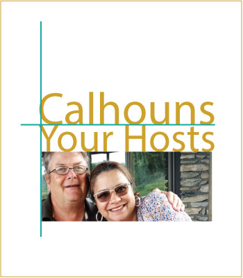 The hosts of Arbors Vacation Rentals - Lu and Jerry Calhoun